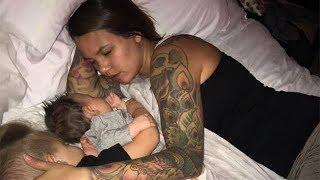 Муж сфотографировал свою спящую жену и поделился в интернете. Он и подумать не мог, что произойдет!