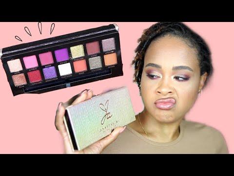 Basic girl uses Jackie Aina x ABH palette thumbnail