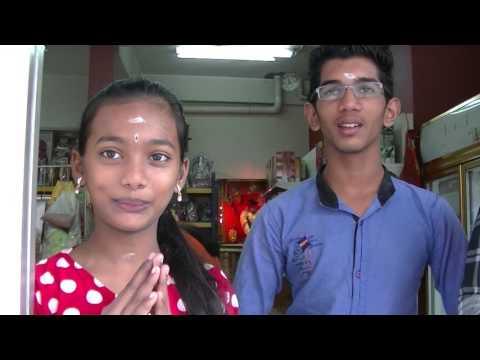 Indian Girl Fluent in Mandarin (Indian Sundry Shop), Melaka, 29 Jan 2017
