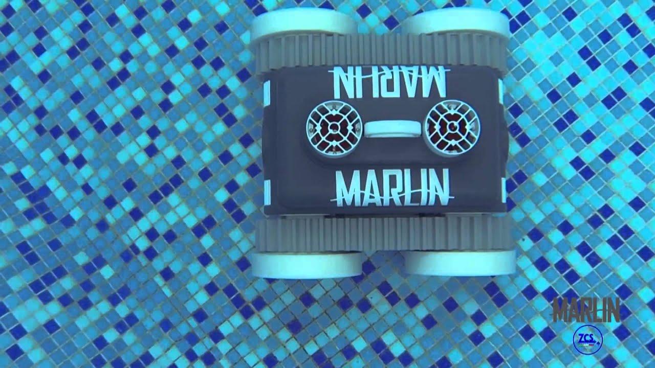 Robot piscine marlin sans fil youtube - Robot piscine sans fil ...