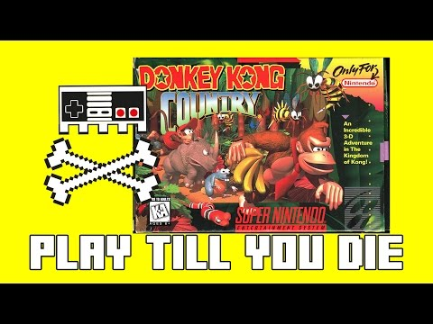 Retro Games SNES  Donkey Kong Country October 2016