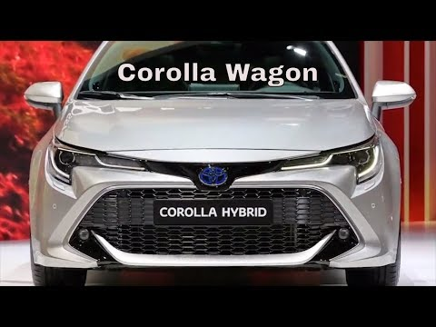 Toyota Corolla Touring Sports Hybrid Wagon First Look 2019 Youtube