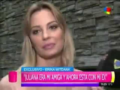 """Érika Mitdank: """"Juliana Giambroni decía que Lali Espósito era una petisa de m…"""""""