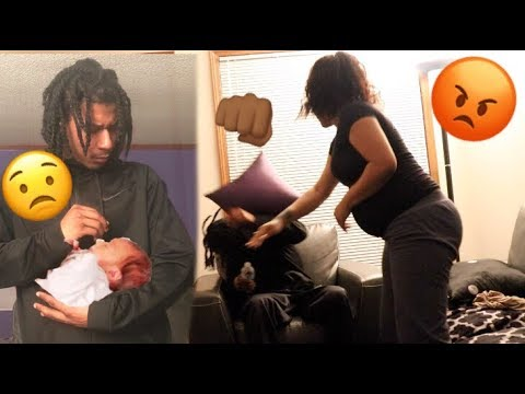 I GOT ANOTHER GIRL PREGNANT PRANK ON MY PREGNANT GIRLFRIEND!!!   SHE GETS HEATED! 😡