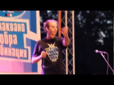 Skiller live performing at the Nescafe 3in1 beatbox battle 2012