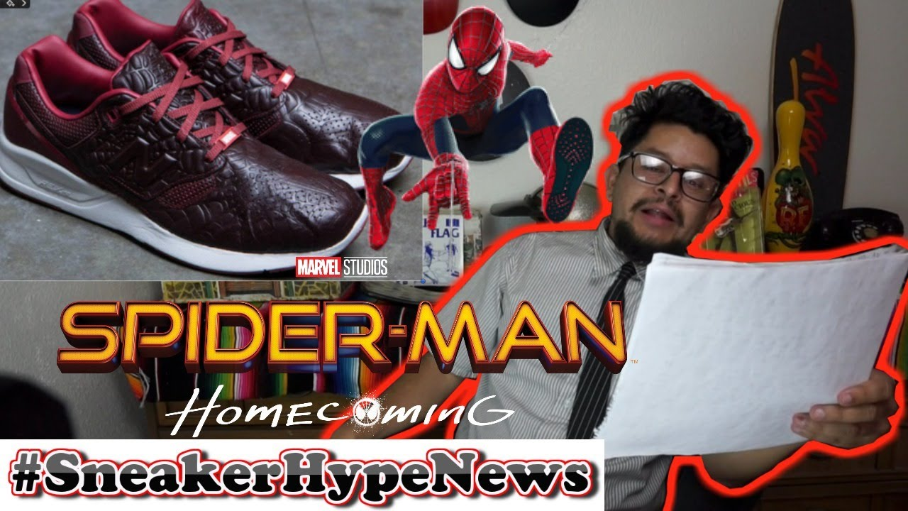 SPIDER-MAN: HOMECOMING SNEAKER MOVIE REVIEW ..... and more on Sneaker Hype  News