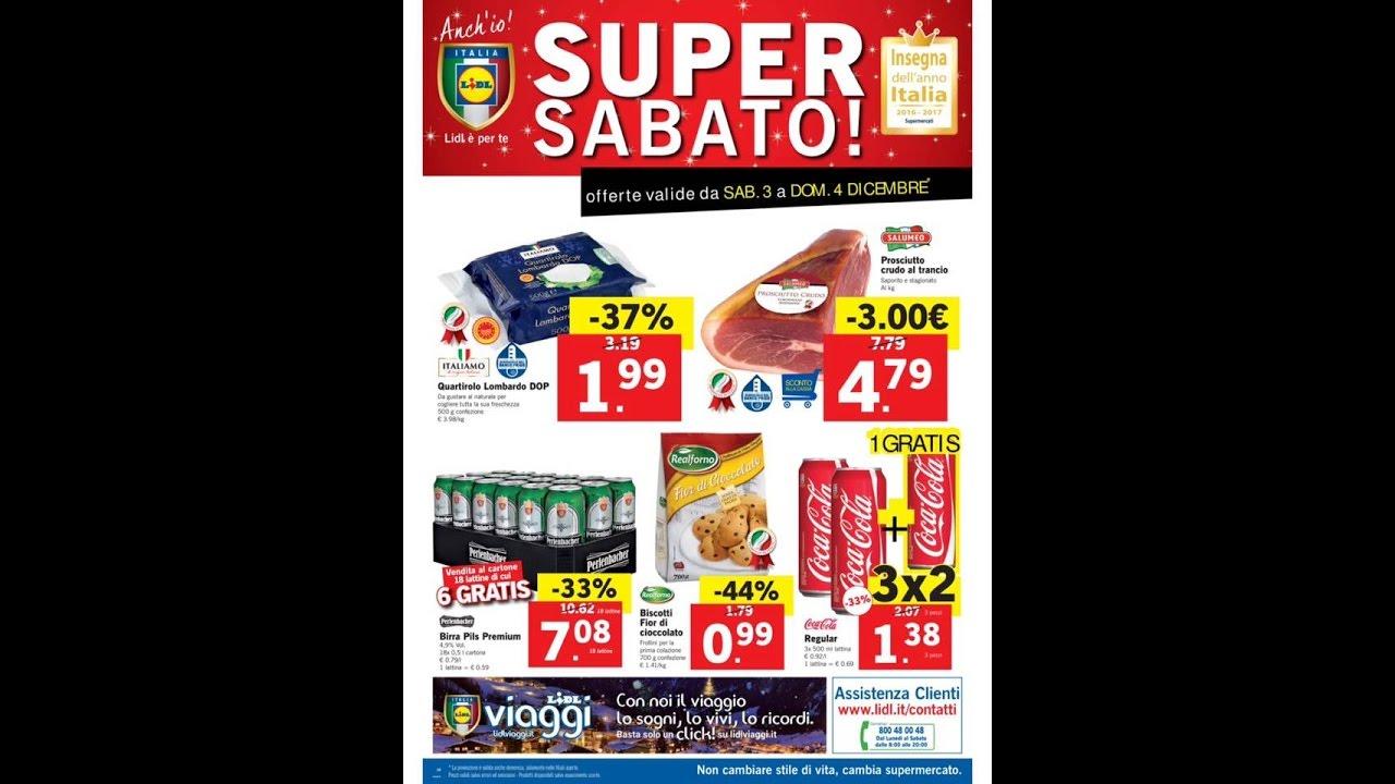 Lidl Super Sabato Offerte Valide Da Sab 3 A Dom 4 Dicembre