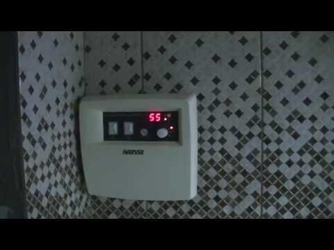 Подключение электрической печи Harvia.