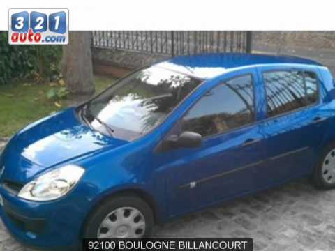 Occasion RENAULT CLIO III BOULOGNE BILLANCOURT