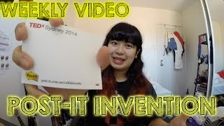 Weekly Video: Invented by Accident - Post-it!...
