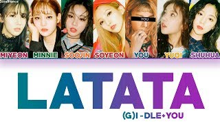 All rights administered by cube entertainment ............................................................................. • artist: (g)i-dle song: latata...