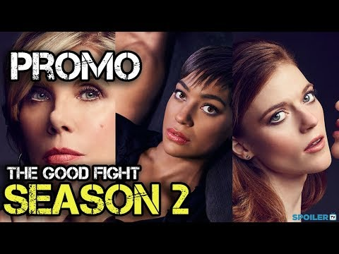 The Good Fight Season 2 Promo First Look Promo UnCensored Region Free
