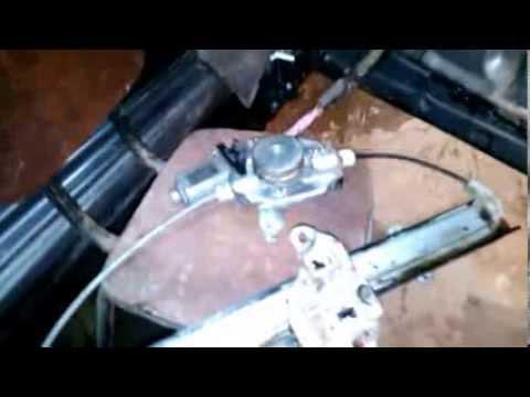 выскочил тросик стеклоподъёмника nissan primera p10 ремонт
