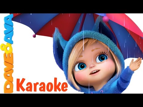 Rain Rain Go Away - Karaoke! | Nursery Rhymes Collection and Kids Songs from Dave and Ava