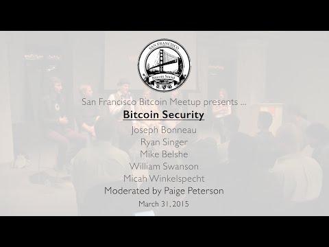 Bitcoin Security Panel