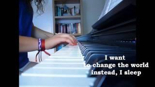 Keep Breathing-Ingrid Michaelson PIANO+LYRICS