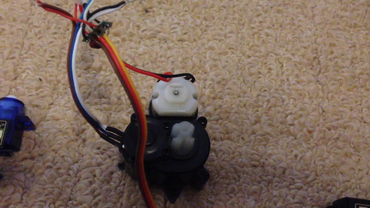 Rc Car Servo Wiring Opinions About Diagram Quick Raw Video 9115 Converted To 3pin Youtube Rh Com Motor