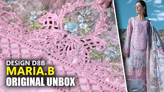 👗 Maria B Lawn Collection 2019 - Unbox Pink D-1908-B - Sara Clothes 👗