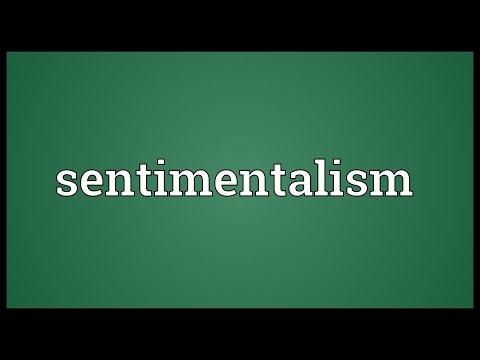 Header of sentimentalism