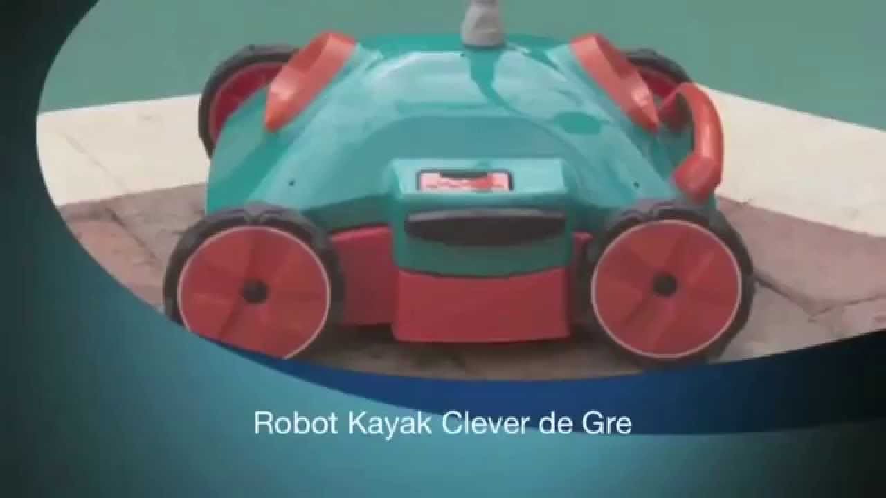 aaa859bb Presentación limpiafondos automático para piscina GRE modelo Kayak ...
