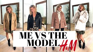 ME VS MODEL - H&M New Try On Haul!