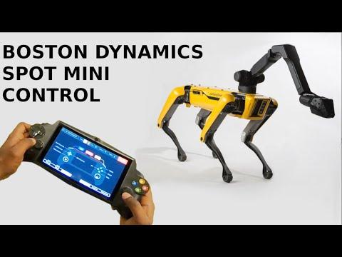 Manually Controlling a Boston Dynamics SpotMini Robot