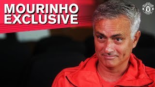 Mourinho Exclusive: Life at the Aon Training Complex is Good
