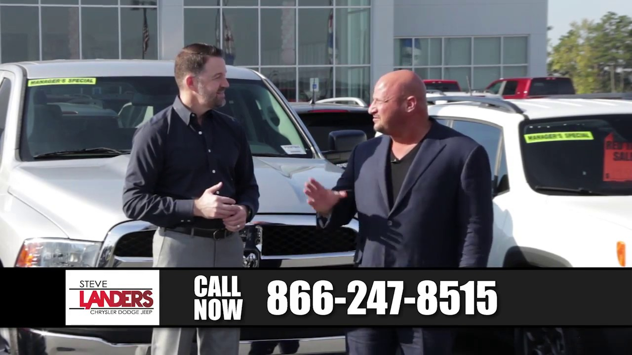 Nice November Vehicle Showcase | Steve Landers Chrysler Dodge Jeep Ram