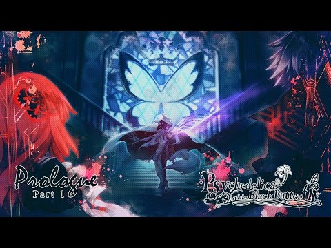Psychedelica of the Black Butterfly - Prologue - ( Part 1 ) Walkthrough Gameplay ( PSVITA TV )
