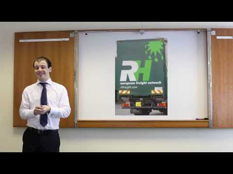 RH Freight - market leading products, video3