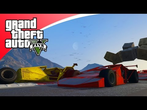 GTA V Online - SCHANSAUTO CRASH RACE! (GTA 5 Funny Races)