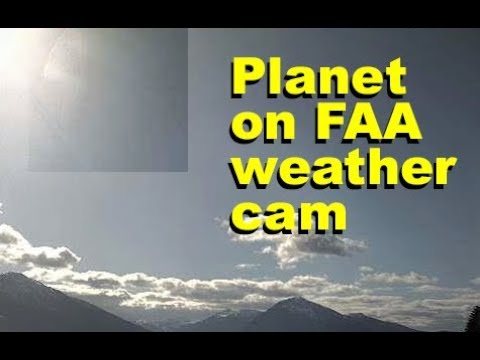 Inbound celestial system on Alaskan FAA weathercams. Apr 16 2018