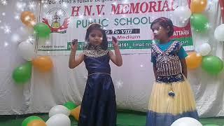 Chanda Chamke cham cham Dance performance kindergarten pupils
