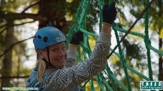 Trees Adventure Ropes Course -  Hollybank Treetops Adventure, Launceston Tasmania.