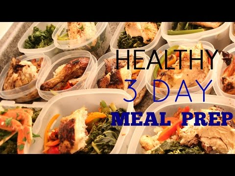 Healthy Chicken and Seafood Meal Prep