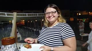3 часть открытие ужин шведский стол Египет  Otium Amphoras блюда гриль на свежем воздухе огонь повар
