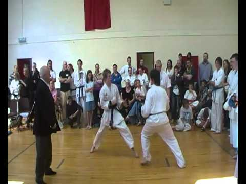 Kevin Dunne under16 Kumite semi final 10 4 11