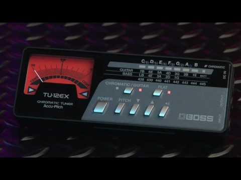 TU-12EX Chromatic Tuner  2009 New !!