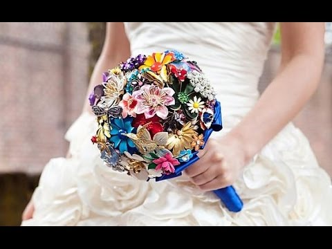 Brooch Wedding Bouquet Diy