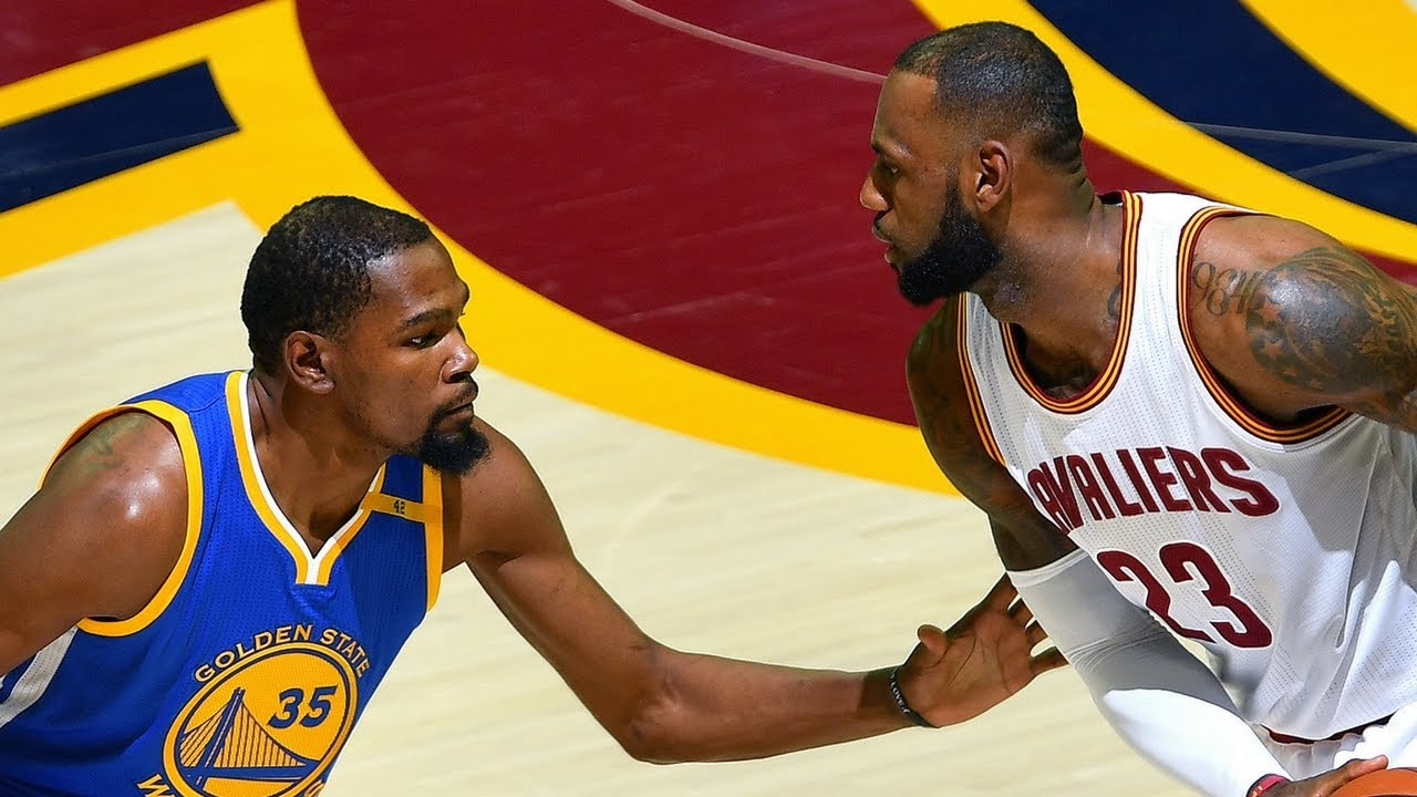 7a1c2f439ced The Full Superstar Duel  Kevin Durant vs. LeBron James In NBA Finals 2017