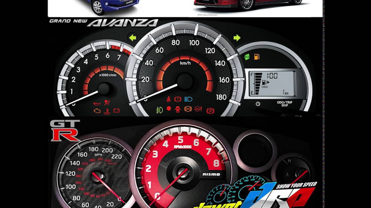 speedometer grand new avanza 1.3 e std m/t paket hemat xenia dawet racing part