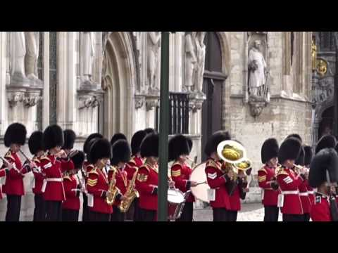 GRENADIER GUARDS IN BRUGES 2.9.2016 / Day 1(dont forget to look at the day2-video) #visitbruges