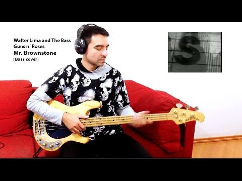 Guns n´ Roses - Mr. Brownstone [Bass cover]