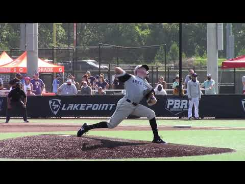 Jackson Wentworth (8-8-2020) at the Area Code Games (Emerson, GA)