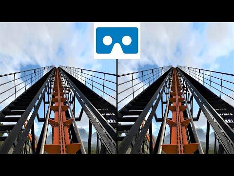 VR 3D video Roller Coaster 1 для VR очков американские горки 3D SBS VR box