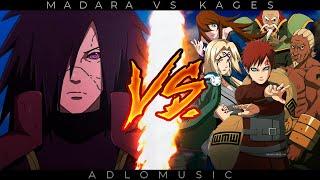MADARA VS. KAGES RAP   Naruto shippuden   2021   AdloMusic