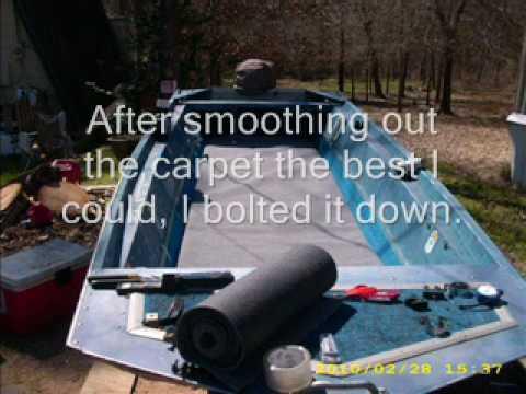 Aluminum Boat Floor Project
