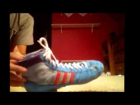 Adidas OG Teal Combat Wrestling Shoes