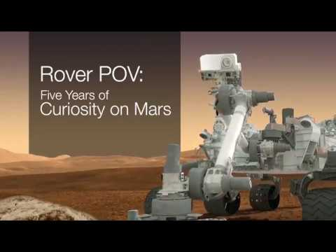 Mars Curiosity Rover : Follow Its Journey POV - Five Years of Curiosity Driving on Mars