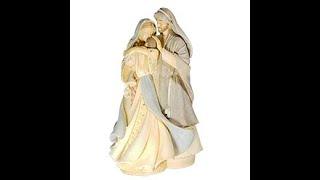 큐빅 입상성가정(소)  - 품안에(가톨릭성물)